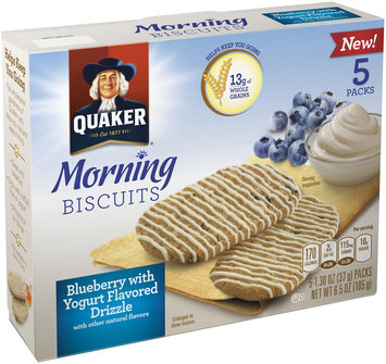 Quaker Life® Blueberry Breakfast Biscuit