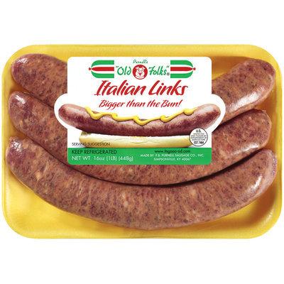 Italian Sausage Links 3 ct