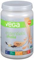 Vega™ Essentials Protein Shake Vanilla Flavor Drink Mix 21.9 oz. Canister