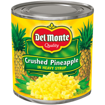 Del Monte® Crushed Pineapple in Heavy Syrup 15.5 oz. Can
