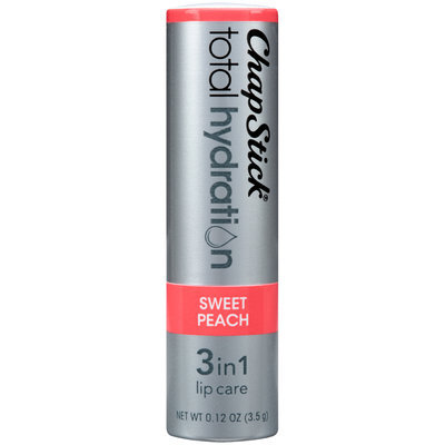 ChapStick® Total Hydration Sweet Peach 3-in-1 Lip Care 0.12 oz. Carded Pack