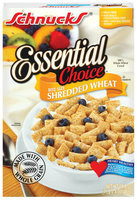 Schnucks Essential Choice Bite Size Shredded Wheat Cereal 16.4 Oz Box