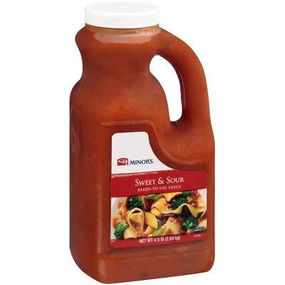 Minor's® Sweet & Sour Sauce 4.5 lb. Plastic Bottle