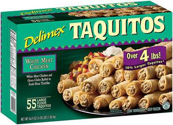 Delimex® White Meat Chicken Taquitos 64.9 oz. Box