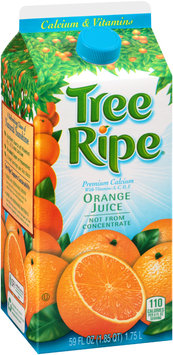 Tree Ripe® Calcium & Vitamins Premium Calcium Orange Juice 59 fl. oz. Carton