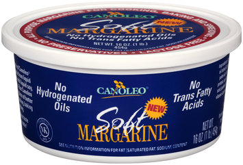 Canoleo® Soft Margarine 16 oz. Tub