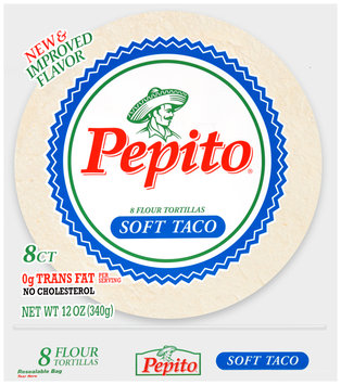 Pepito® Soft Taco Flour Tortillas 8 ct Bag