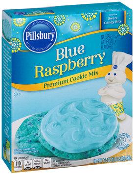 Pillsbury Blue Raspberry Premium Cookie Mix 17.5 oz. Box