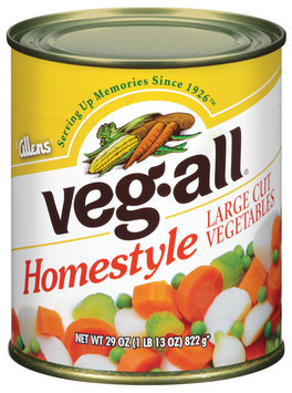 Veg-All Homestyle Large Cut Vegetables 29 Oz Can