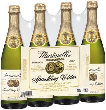 Martinelli's® Gold Medal® Sparkling Cider 4-25.4 fl. oz. Bottles
