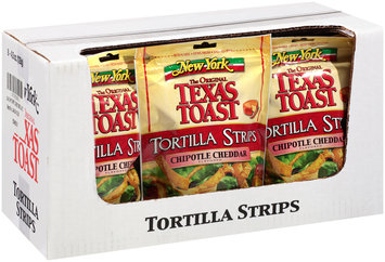 New York® Texas Toast Zesty Southwest Crunch Chipotle Cheddar Flavored Tortilla Strips 5 oz. Bag