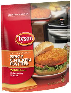 Tyson® Spicy Chicken Patties 26 oz. Bag