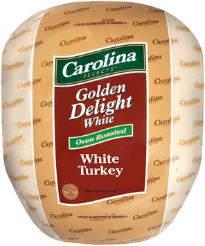 Carolina Selects Golden Delight Oven Roasted White Turkey   Wrapper