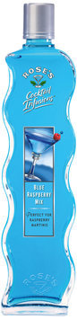 Rose's Cocktail Infusions® Blue Raspberry Mix 20 fl. oz. Bottle