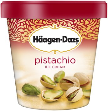 HAAGEN-DAZS Pistachio Ice Cream 14 fl. oz. Carton