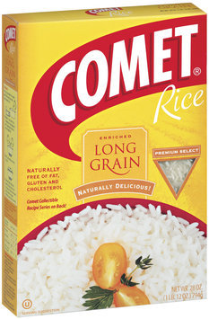 Comet Long Grain Enriched Rice 28 Oz Box