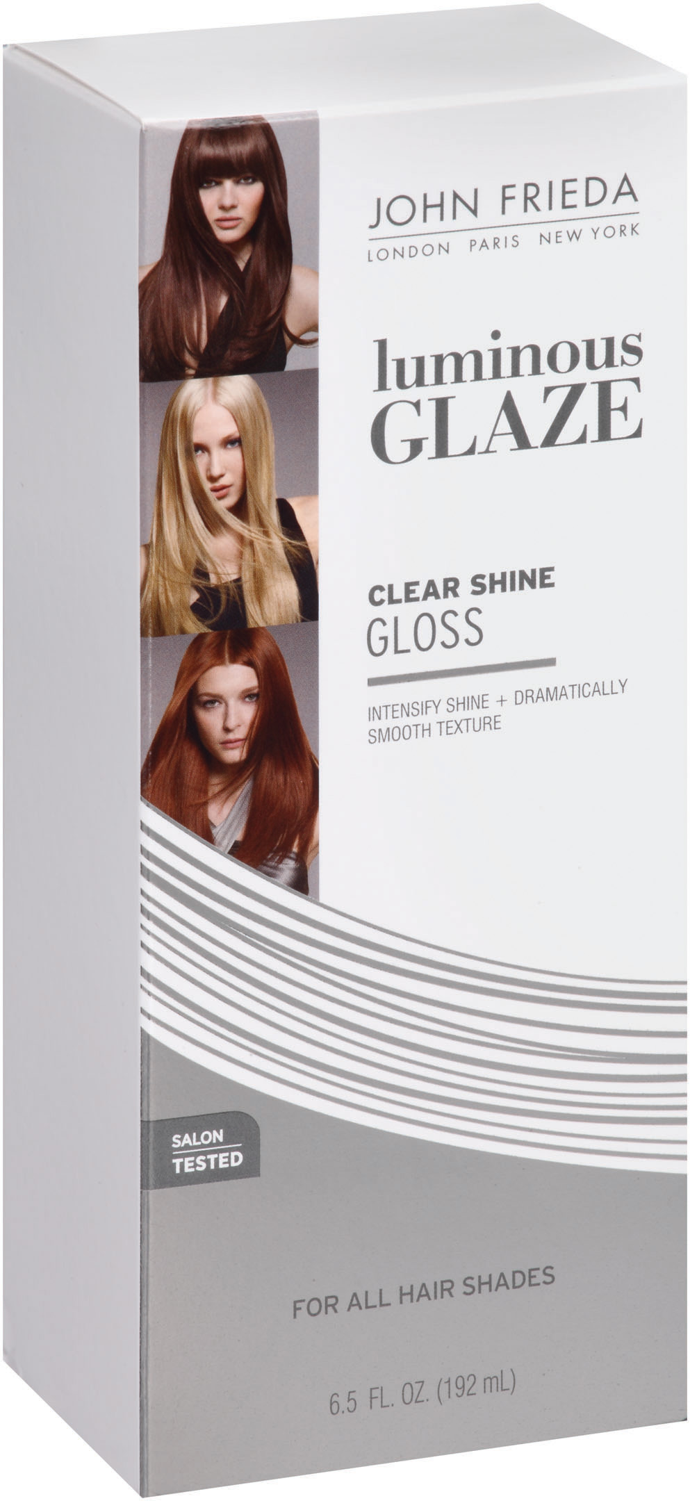 John Frieda Luminous Glaze® Clear Shine Gloss 6.5 fl. oz. Box