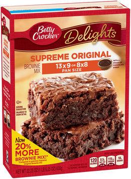 Betty Crocker™ Delights Supreme Original Brownie Mix  22.25 oz. Box