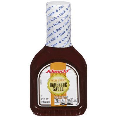 Schnucks® Sweet 'n Spicy Barbecue Sauce 18 oz. Bottle