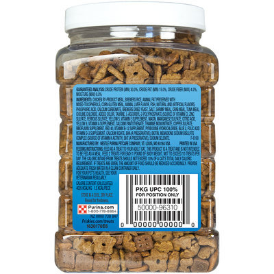 Purina Friskies Party Mix Crunch Beachside Cat Treats 20 oz. Canister
