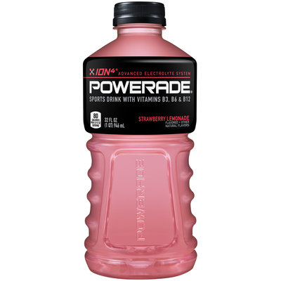 Powerade Sports Drink Strawberry Lemonade