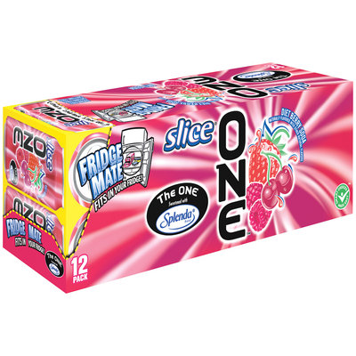 Slice® One™ Diet Berry Soda 12 Pack 12 fl. oz. Cans