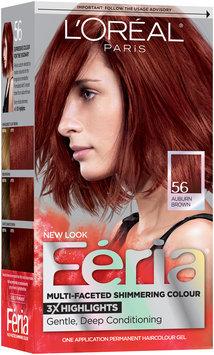 L'Oréal® Paris Feria® Multi-Faceted Shimmering Colour 56 Auburn Brown Hair Color 1 kt Box