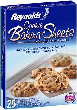 Reynolds® Cookie Baking Sheets Parchment Paper