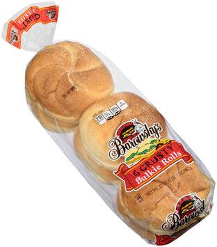 Barowsky's® Crusty Bulkie Rolls 6 ct Bag