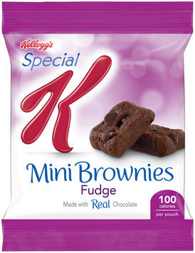 Kellogg's® Special K® Fudge Mini Brownies 0.74 oz. Pouch