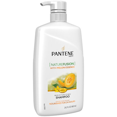 Moisture Balancing Pantene Nature Fusion Moisturizing Shampoo with Melon Essence - Powered by Cassia, 29.2 oz.