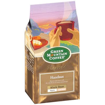 Green Mountain Coffee Roasters Flavored Hazelnut Whole Bean Regular Light Roast Signature Coffee 12 Oz Stand Up Bag