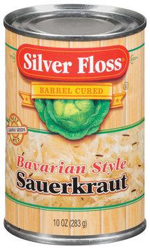 Silver Floss Bavarian Style Sauerkraut 10 Oz Can