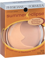 Physicians Formula® Summer Eclipse® 3104 Moonlight/Light Bronzer Radiant Bronzing Powder 0.3 oz. Box