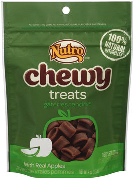Nutro® Chewy with Real Apples Dog Treats 4 oz. Pouch
