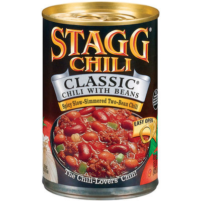 STAGG CHILI Classic W/Beans Chili 15 OZ CAN