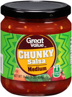 Great Value™ Medium Chunky Salsa 16 oz. Jar