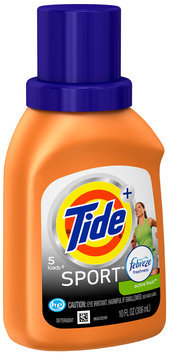 Tide Plus Febreze Freshness™ Sport High Efficiency Liquid Laundry Detergent