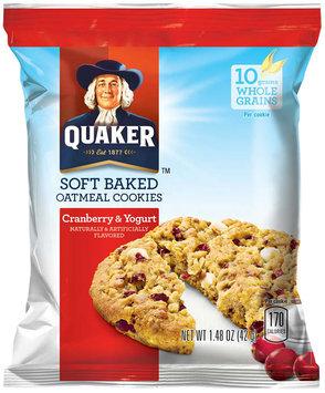 Quaker® Cranberry & Yogurt Soft Baked Oatmeal Cookie