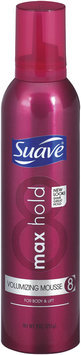 Suave Volumizing Max Hold 8 Mousse 9 Oz Spout-Top Can