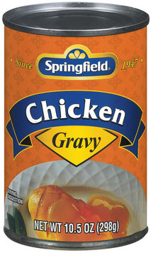 Springfield Chicken Gravy 10.5 Oz Can