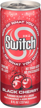The Switch® Black Cherry Sparkling 100% Juice 8 fl. oz. Pull-Top Can