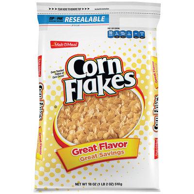 Malt-O-Meal® Corn Flakes Cereal 18 oz. Bag