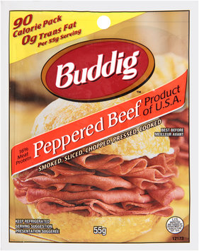 Buddig™ Peppered Beef 55g Packet