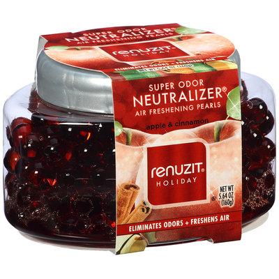 Renuzit® Super Odor Neutralizer® Holiday Apple & Cinnamon Air Freshening Pearls 5.64 oz. Jar