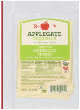 Applegate Farms Organic American (Item Number 12694) Cheese 5 Oz Peg