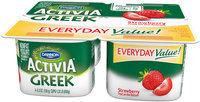 Activia® Strawberry Probiotic Greek Nonfat Yogurt