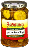 Farman's Bread & Butter Cucumber Chips 24 fl. oz.