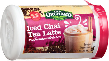 Old Orchard® Iced Chai Tea Latte 12 fl. oz. Canister