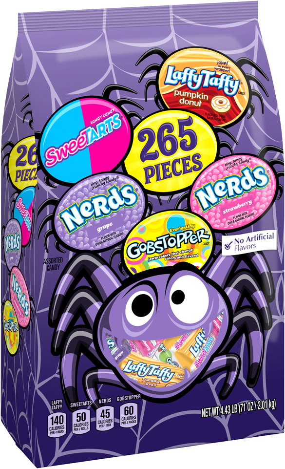 Nestlé Assorted Halloween Candy 265 Pieces, 71 oz. Bag